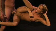 Smoking hot chick Gigi Ferari loves to ride a throbbing prick