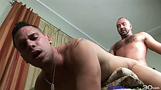 Tight gay ass fucking action with nasty boy Sonday West and his lover