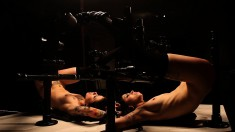 Two attractive girls bring their bondage fetish fantasies to fruition