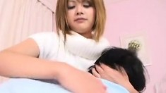 Asian Babe With Big Tits Gets Groped By Horny Man