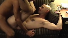 Two gay lovers take turns fucking each other's hungry butt holes