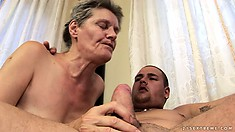 Worn-out Vagina Tastes Like Candy For That Perverted Gentleman