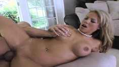 Slut Kayla Synz gets fucked hard while she's cheating on her man