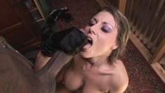 Stacked Velicity Von indulges in wild anal sex with a black stallion