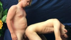 Lovely gay man can't wait to satisfy his boyfriend's sexual desires
