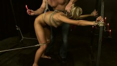 Dazzling blonde Greta gets dominated and fucked just like she desires