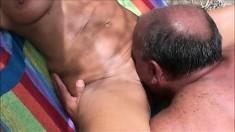 Outdoor beach sex