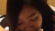 korean college girl sucking cock