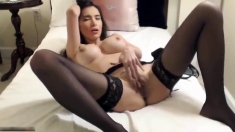 Brunette Stockings Solo Hd Carre Seduced By