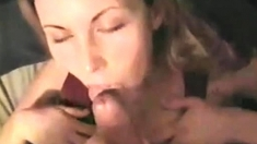 Blonde amateur milf does anal on pov camera 29