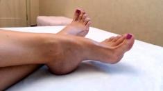 Linsey Dawn Solo Foot Fetish