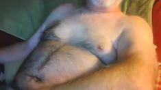 Mature man cumming