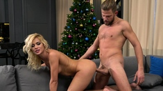 Happy Rim Day with hot blonde babe Cherry Kiss