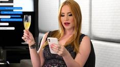 Hot rimming surprise with stunning blonde Kiara Lord