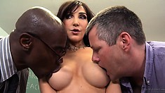 Big ass wife has been dreaming about that cock for a long time