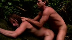 An exotic anal experience for two well built dudes with big dicks